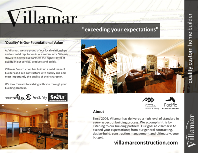 Villamar Construction: construction victoria bc, custom home builder