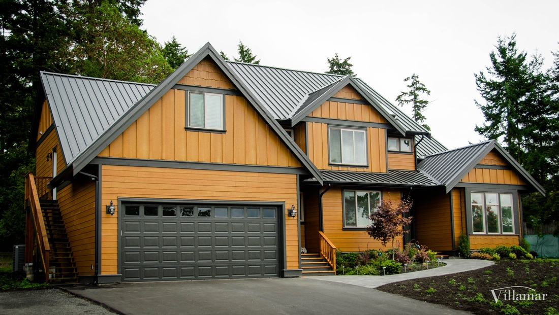 custom home build company saanich west coast style villamar