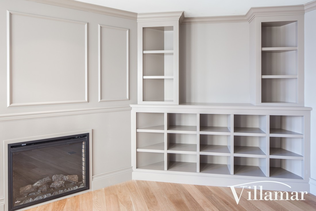 built in bookself fireplace design ideas victoria bc