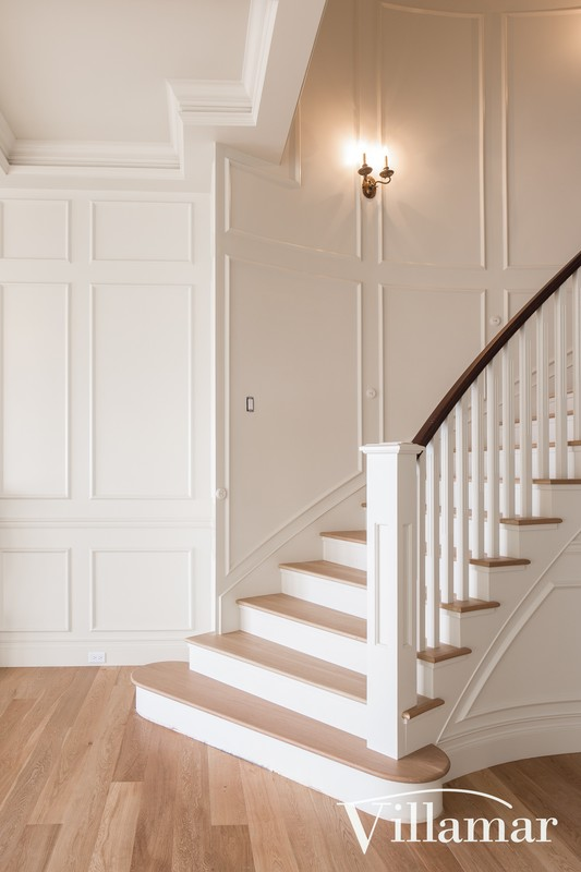 stairway traditional design make over victoria home gordon head construction company